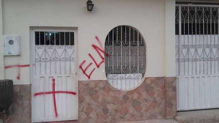 Venezuela   Casas amanecieron con pintas del ELN y amenazas contra marcha convocada por Juan Guaidó