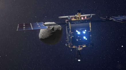 Sonda japonesa Hayabusa 2 bombardeó un asteroide para abrir un cráter