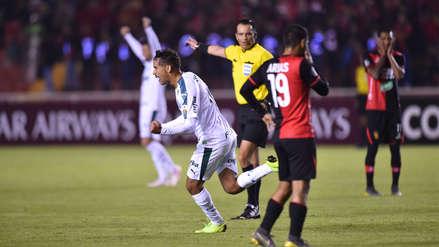Melgar cayó 4-0 ante Palmeiras por el Grupo F de la Copa Libertadores