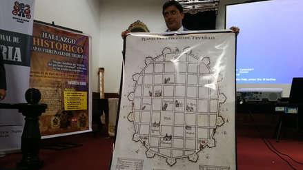Revelan plano y mapas de Trujillo de hace 400 años