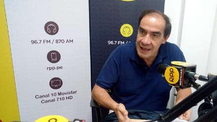 Jonhy Lescano sobre Alan García: