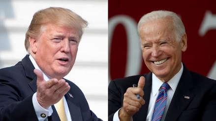 """Donald Trump le advierte a Joe Biden que la campaña presidencial de 2020 """"será desagradable"""""""