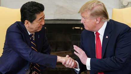 Trump afirma que la negociación del acuerdo comercial con Japón avanza