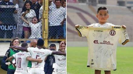 Universitario de Deportes: Thiago, el niño de la portada, visitó Campo Mar y será 'mascotita' ante Huancayo