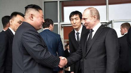 """Kim Jong-un a Vladímir Putin: """"La situación en la península coreana ha llegado a un punto crítico"""""""