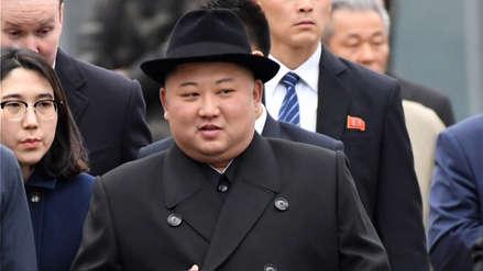Kim Jong-un llega a Pyongyang tras cumbre