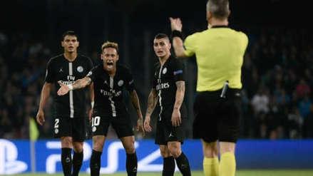 Neymar recibió dura sanción por insultar a los árbitros en Champions League