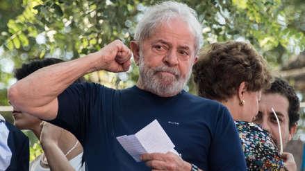 Lula da Silva desde la cárcel: Brasil es gobernado por una