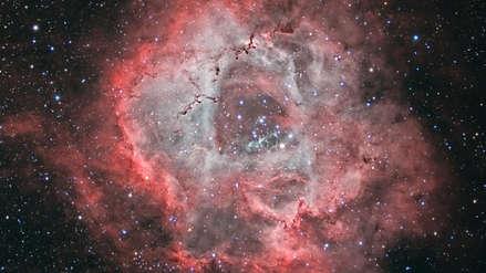 Una aficionada de 60 años tomó una de las fotos más bellas de la Nebulosa Roseta