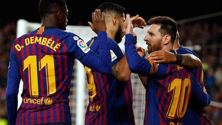 ¡Barcelona  campeón! Un golazo de Messi le dio el título a los azulgranas en LaLiga 2018/19