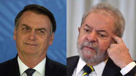 Jair Bolsonaro responde a Lula Da Silva: Brasil no es gobernado por borrachos