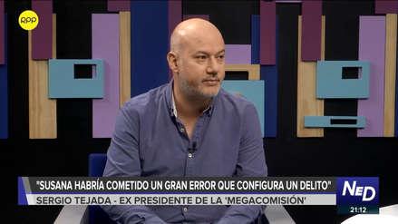 Tejada consideró que Susana Villarán cometió un error por
