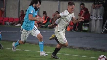Sporting Cristal empató 1-1 ante Universitario de Deportes en reñido partido