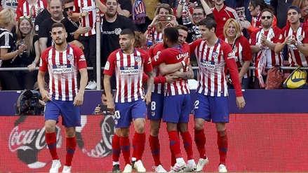 Atlético de Madrid venció 1-0 a Valladolid y obliga a Barcelona a ganar para salir campeón