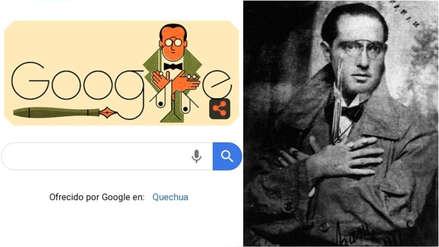 Google dedica 'doodle' al escritor Abraham Valdelomar por los 131 años de su nacimiento