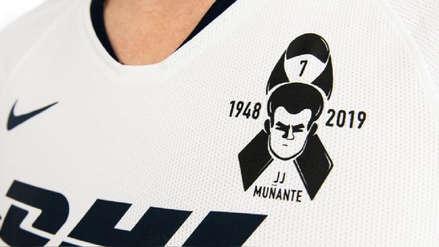 ¡Te llevaremos en el corazón! Pumas le rindió emotivo homenaje a Juan José Muñante