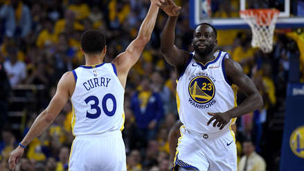 Los Golden State Warriors dieron el primer golpe ante Houston Rockets en las semifinales de los Playoffs de NBA