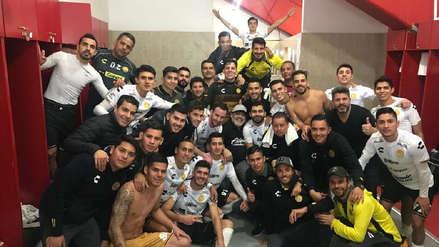 Así fue la celebración de Diego Maradona tras pase de Dorados a la final de ascenso en México