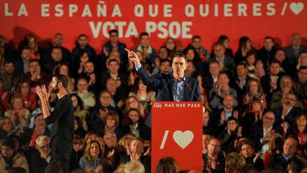 PSOE gana elecciones en España y la extrema derecha entra al Parlamento