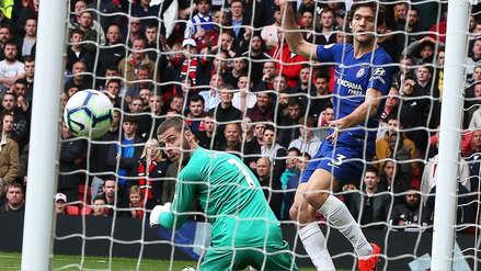 ¡Otra vez no, De Gea! El error del arquero del Manchester United que terminó en gol del Chelsea