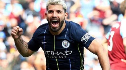 ¡Lo volvió a hacer el 'Kun'! El gol de Sergio Agüero que le dio la victoria al Manchester City ante Burnley