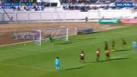 ¡La clavó en el ángulo! El golazo de tiro libre de Juan Pablo Vergara frente a Melgar