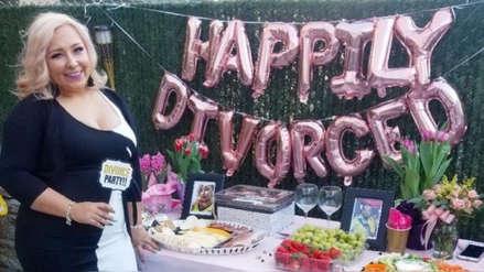 EE.UU. | Una mujer realizó una fiesta de divorcio tras intentar durante años separarse de su marido