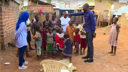 Una mujer ugandesa debe mantener a 38 hijos de 15 embarazos tras ser abandonada por su esposo
