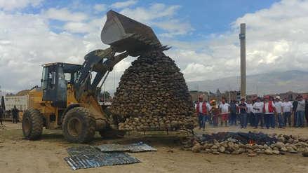 Huancayo: Así fue la preparación de la 'pachamanca más grande del mundo' [FOTOS]
