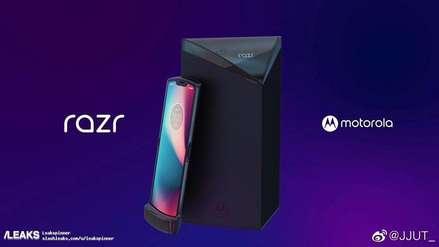 Motorola busca revivir el clásico modelo RAZR con un smartphone de pantalla flexible