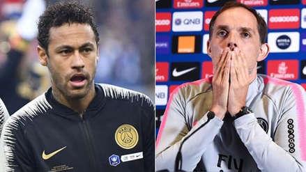 Entrenador de PSG criticó duramente a Neymar tras agresión a hincha