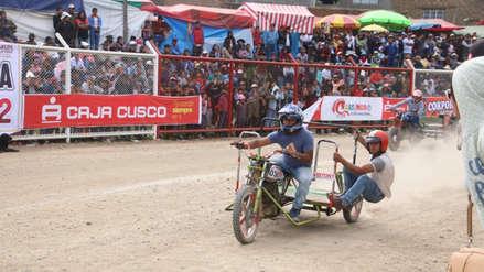 ¡Al estilo Ben Hur! Así son las arriesgadas carreras de mototaxi en Huancayo