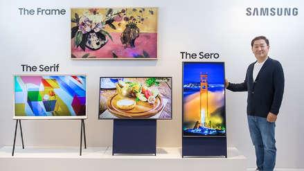 Llegó el día: Este es el primer televisor vertical de Samsung