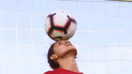 Cindy Novoa, la volante de la Selección Peruana a la que de niña le prohibían jugar fútbol por ser mujer
