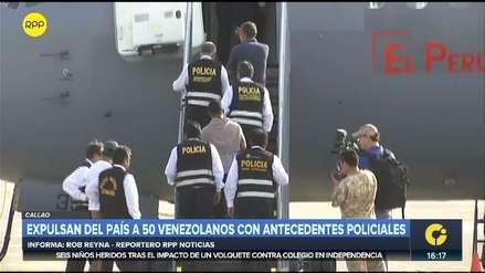 Perú expulsa a 50 venezolanos con antecedentes policiales que ingresaron irregularmente