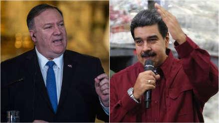 Pompeo dice que Maduro
