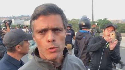 Leopoldo López solicitó protección como huésped en la Embajada de Chile en Caracas