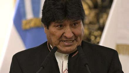 """Evo Morales: """"Condenamos enérgicamente el intento de golpe de Estado en Venezuela"""""""