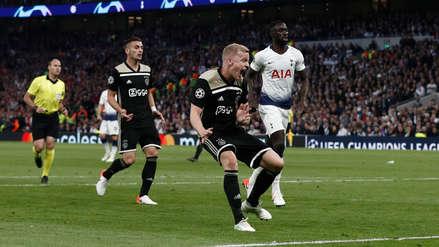 Tottenham 0-1 Ajax: resumen del minuto a minuto por la semifinal de ida de la Champions League