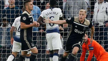 Ajax dio la sorpresa en Inglaterra y venció al Tottenham por las semifinales de Champions League