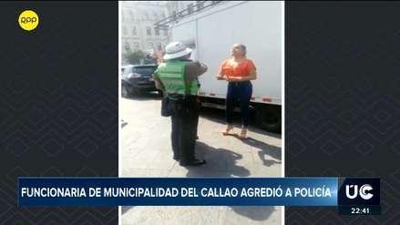 Ministerio del Interior denunciará penalmente a mujer que agredió verbalmente a policía