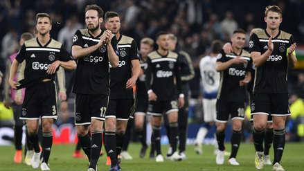 Posesión espectacular: los 23 toques del Ajax ante el Tottenham