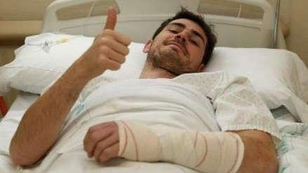 Iker Casillas tras su sufrir un infarto: