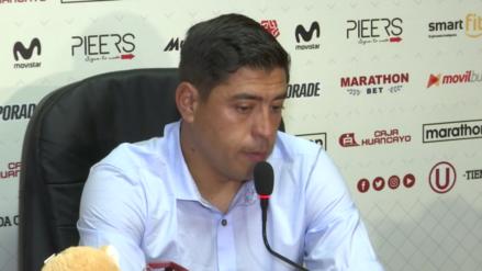 Universitario | Esto dijo Nicolas Córdova tras empatar ante Sport Huancayo [VIDEO]