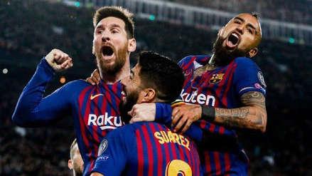 Barcelona goleó 3-0 al Liverpool y dio un gran paso para lograr su pase a la final