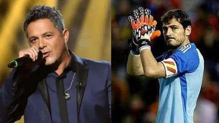 Alejandro Sanz a Iker Casillas tras sufrir infarto: