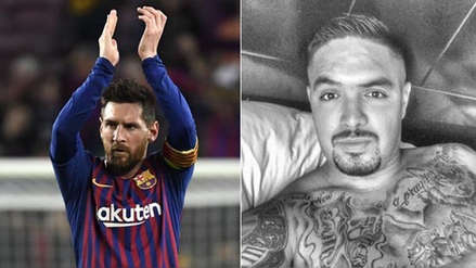 Juan Vargas se rindió ante Lionel Messi tras su golazo de tiro libre ante Liverpool