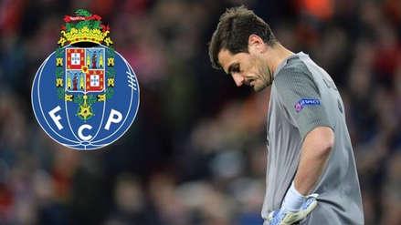 Parte médico oficial del Porto tras el infarto de Iker Casillas