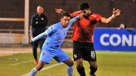 Binacional perdió 2-1 ante Independiente y quedó eliminado de la Copa Sudamericana