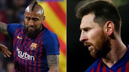 Lionel Messi le llamó la atención a Arturo Vidal en pleno partido entre Barcelona vs. Liverpool